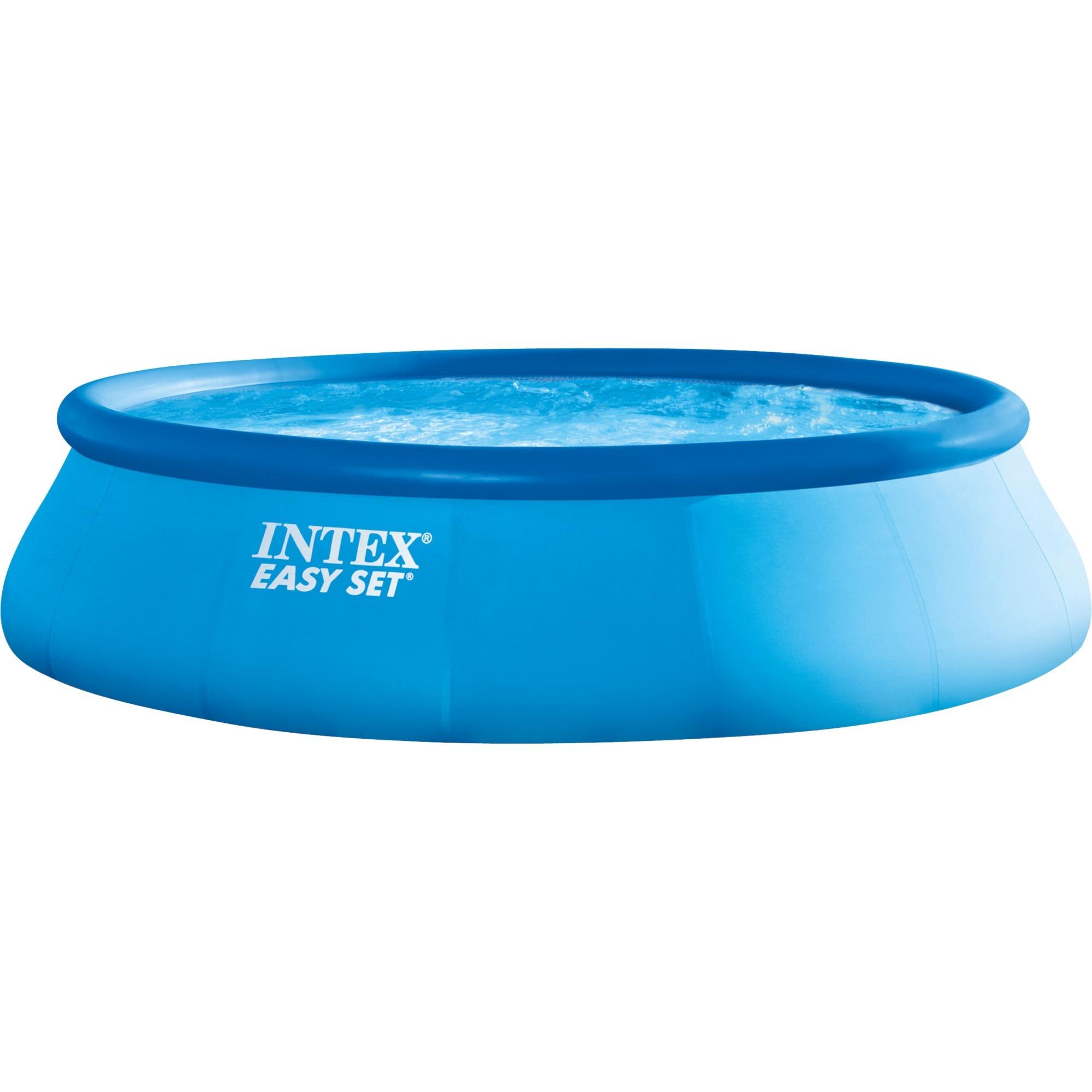 Ø 457cm Intex Abdeckplane Easy Set Pools dunkelblau