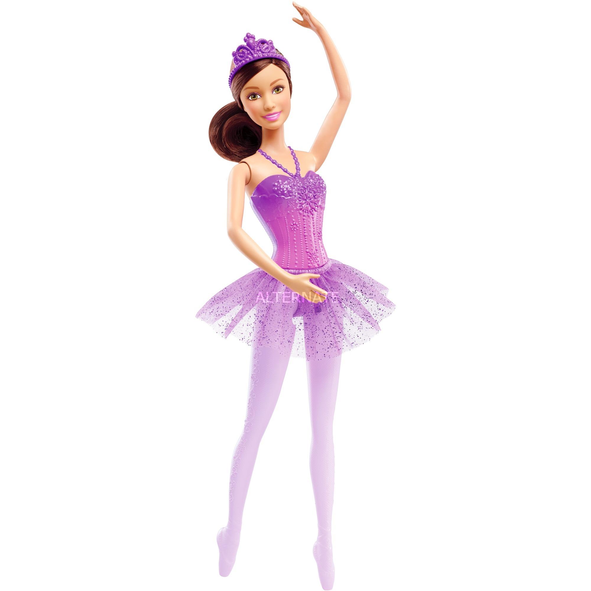 Barbie Ballerina Puppe (lila)