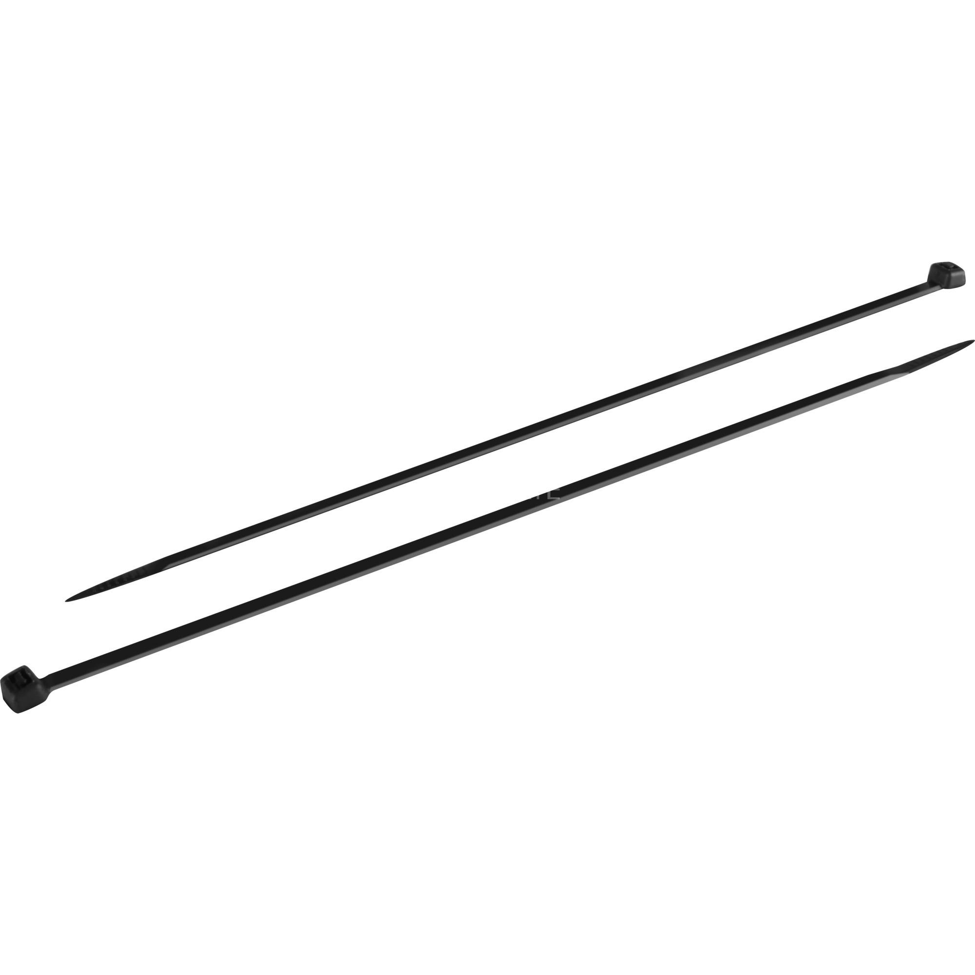 goobay Kabelbinder 200x3,5mm schwarz, 100 Stück